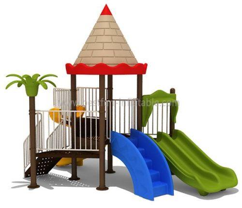 Helpful Preschool Castle Outdoor Playground