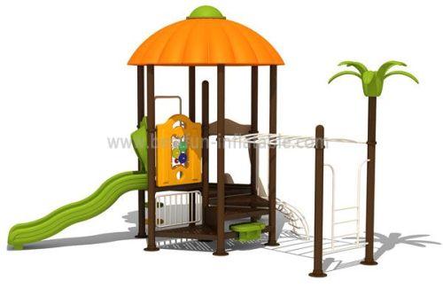 Holiday Season Vintage Playground Equipment