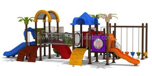 Indoor Plastic Playground Slides
