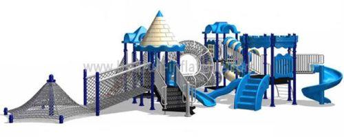 Kid Plastic Play House Slide