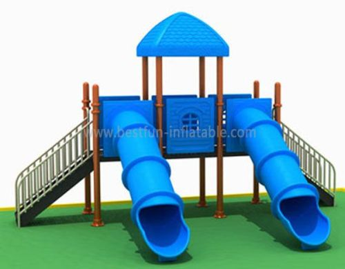 Kids Outdoor Plastic Entertainment Slide