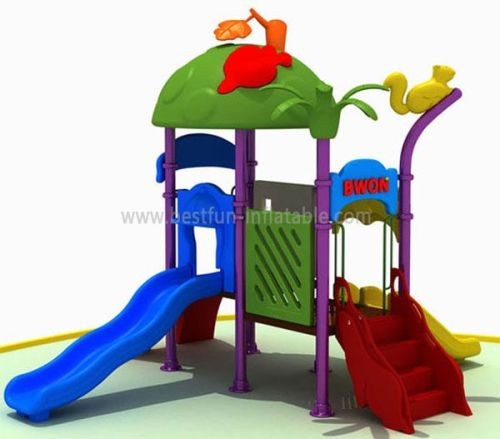 Nontoxic Outdoor Wooden Playground For Children