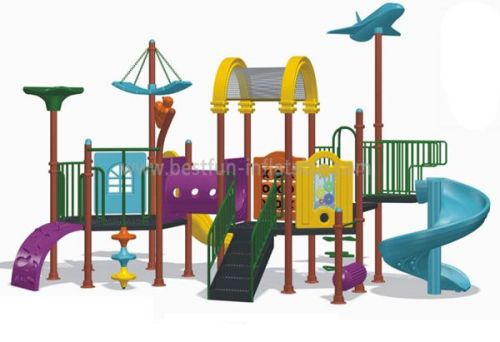Outdoor Playground Equipment Dimensions