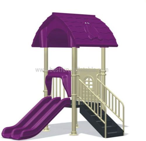 Plastic Outdoor Playground Equipment For Kids3 To 15 Years Old