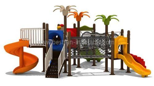 Plastic Playground Park Castle