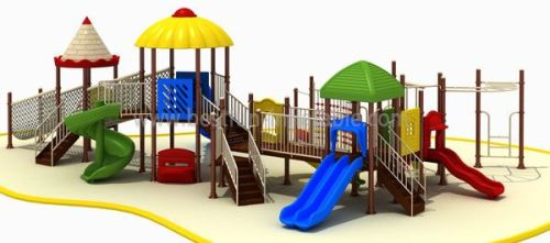 Playground Outdoor Obstacle Course