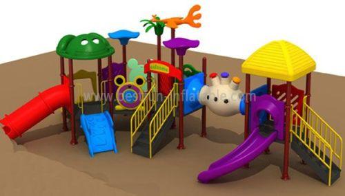 Rope Climbing Playground Equipment