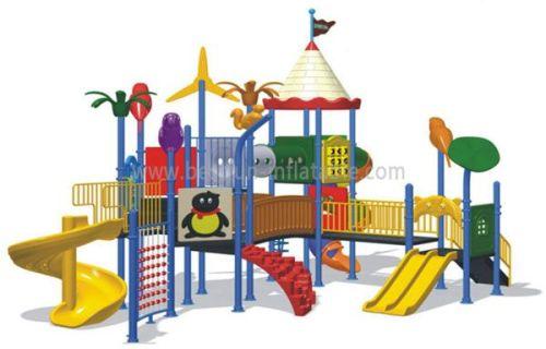 Tuv Approved Plastic Kindergarten Playground