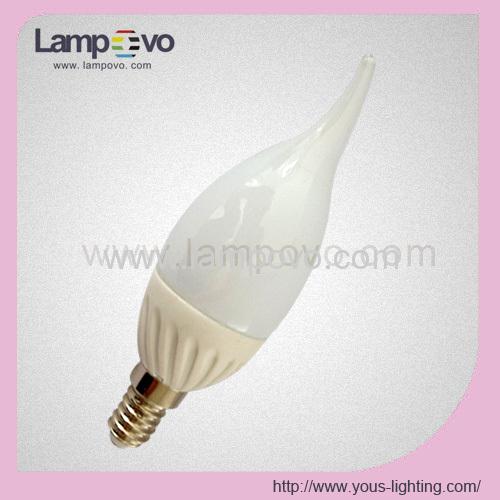 ceramic led flame bulbs SMD5630 ceramicledflamelights 240LM 200LM