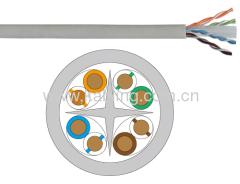 UTP unshielded twisted 4 pairs category 6 Lan Cable