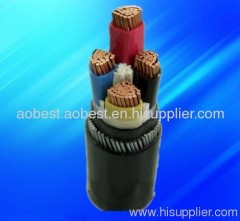PVC power cable copper cable