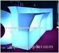 straight table PE Luminous furniture