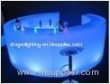 round LED bar PE Luminous furniture