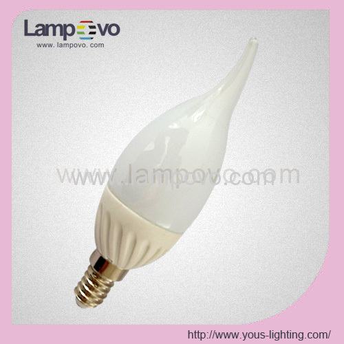 ceramic led flame bulbs cremicledflamelights 8SMD5630 320LM 300LM