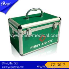 Aluminum material table top doctor first aid box