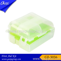 High quality PVC material small Pill box with five divisions