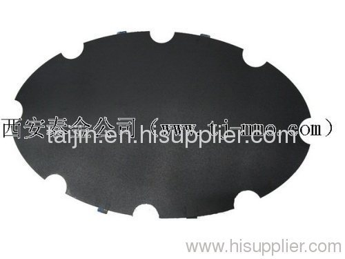 IrO2-RuO2 titanium disk anode for ICCP (inperssed current cathodic protection)