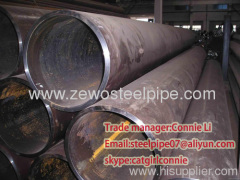 Beveled steel line Pipe SMLS