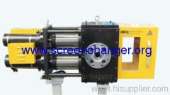 hydraulic screen changer-double piston screen changer