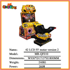 42 LCD 4D All dynamic outrun MR-QF100 Single player,Hot sale racing car arcade game machine