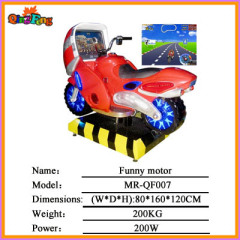 simulator racing game machine