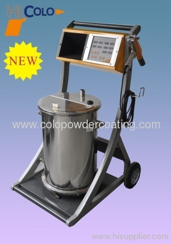 NEW Model Electrostatic powder coating equipment in 2013