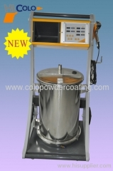 powder coating machine intelligent new model