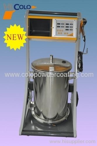 powder coating machine intelligent new model