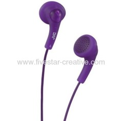 JVC HA-F150 Gumy In-Ear Headphones Grape Violet