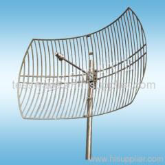 3.5 GHz 27dBi high gain narrow beamwidth parabolic grid wimax antenna