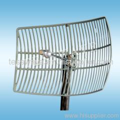 3.5 GHz 22dBi high gain long range wimax parabolic grid antenna
