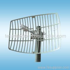 3.5 GHz 19dBi high gain directional parabolic grid wimax antenna
