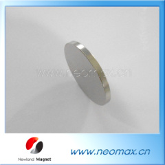Coin shape neodymium magnets wholesale