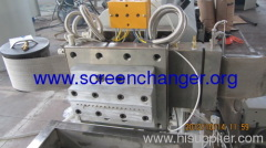 plastic melt filter- automatic belt screen changer