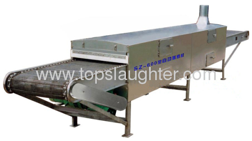 Meat processing machinery continuous steam cooker