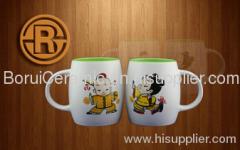 5-20oz,stoneware,porcelain,print the logo,decal mug