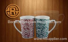 ceramic,stoneware,porcelain,super white porcelain mugs,print the logo,decal mug