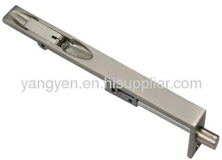 Stainless steel door flush bolt