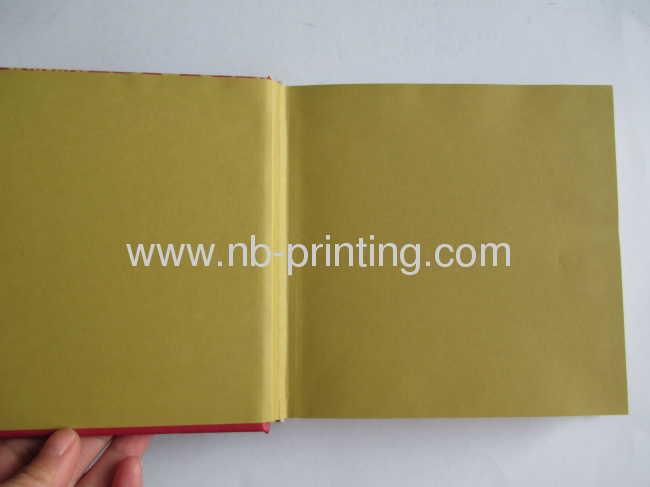 hardbound round-backed publishing book