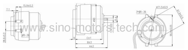 5W-25W Unit Bearing Motors