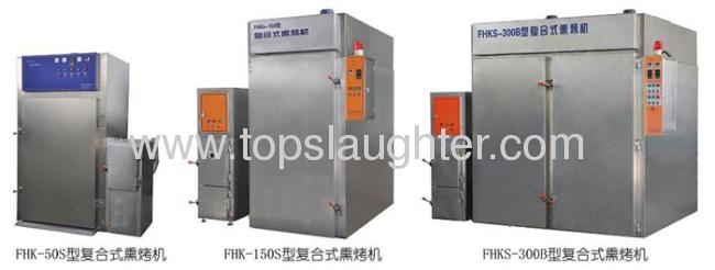 Meat machinery Chicken/duck smoking machine