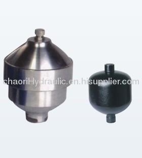 high pressure diaphragm accumulator