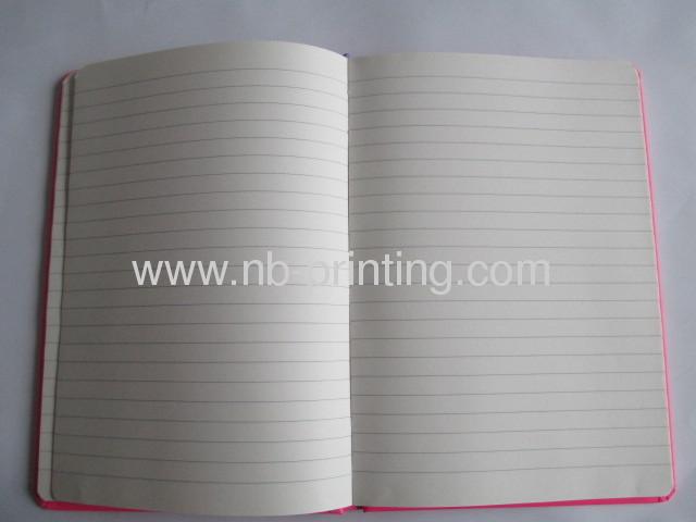 Loving heart round corner hardbound noteook