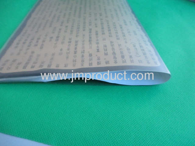 PVC jacket perfect binding notebook