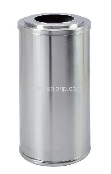 Stand metal dust bin