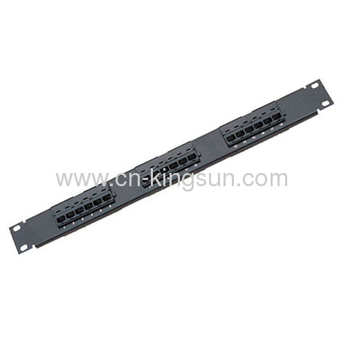 18 Port Cat.5e Patch Panel