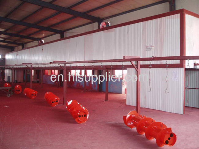 Aluminum Powder Coating Line