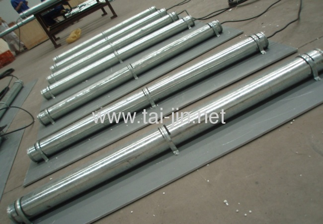 Titanium mmo activated canistered anode for protection of storage tanks