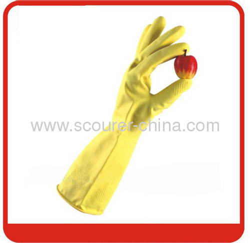Latex Cleaning Glove for dish washing