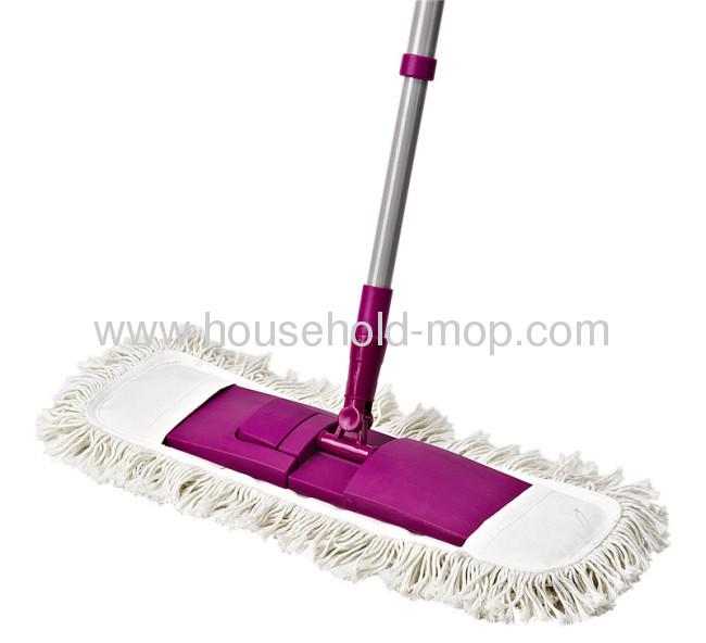 Telescopic alu handle plastic spray flat mop with microfiber Mop Head